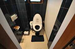 ウォシュレット付きトイレの様子。(2012-08-20,共用部,TOILET,2F)