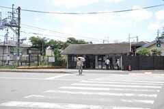 阪急嵐山線・松尾駅の様子。(2012-08-20,共用部,ENVIRONMENT,1F)