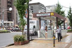 地下鉄烏丸線・五条駅の様子。(2017-09-12,共用部,ENVIRONMENT,1F)