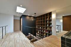 本棚は天井にくっついています。(2017-03-07,共用部,OTHER,3F)