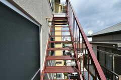 屋上へ続く階段。(2017-03-07,共用部,OTHER,3F)