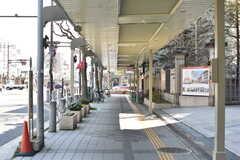 京都市営地下鉄烏丸線・北大路駅周辺の様子。(2017-03-29,共用部,ENVIRONMENT,1F)