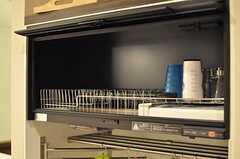 食器乾燥機の様子。(2012-05-07,共用部,KITCHEN,2F)