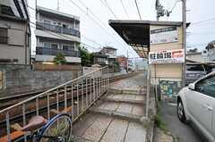 叡山電鉄叡山本線・元田中駅の様子。(2012-05-07,共用部,ENVIRONMENT,1F)