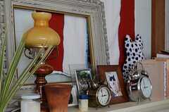 オシャレなランプも入居者さんの私物です。(303号室)(2011-10-01,専有部,ROOM,3F)