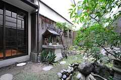 庭の様子2。 (2014-03-04,共用部,OTHER,1F)