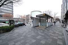 各線・烏丸御池駅の様子。 (2014-03-04,共用部,ENVIRONMENT,1F)