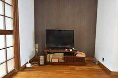 共用TVの様子。(2016-05-07,共用部,TV,1F)