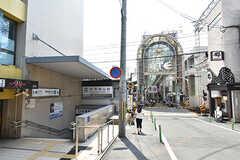 京阪本線・桃山御陵前駅周辺の様子。(2016-05-07,共用部,ENVIRONMENT,1F)