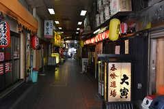 京阪本線・桃山御陵前駅前の路地。(2016-05-07,共用部,ENVIRONMENT,1F)