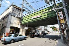 京阪本線・桃山御陵前駅の様子。(2016-05-07,共用部,ENVIRONMENT,1F)