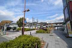 各線・山科駅の様子。(2015-03-04,共用部,ENVIRONMENT,1F)