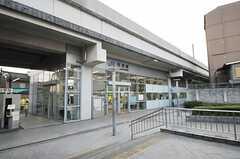 JR山陰本線・円町駅の様子。(2014-03-03,共用部,ENVIRONMENT,1F)