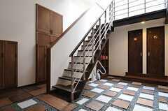 階段の様子。(2013-05-20,共用部,OTHER,1F)
