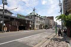 京都市営地下鉄烏丸線・今出川駅からシェアハウスへ向かう道の様子。(2013-05-20,共用部,ENVIRONMENT,1F)