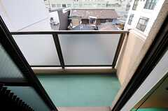 ベランダの様子。(306号室)(2011-12-21,専有部,ROOM,3F)