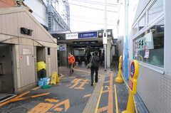 各線・東福寺駅の様子。(2011-12-21,共用部,ENVIRONMENT,1F)