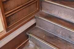 土間から上がれる階段。(2013-02-17,共用部,OTHER,1F)