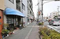 叡山電鉄叡山本線・元田中駅前の様子2。(2013-02-17,共用部,ENVIRONMENT,1F)