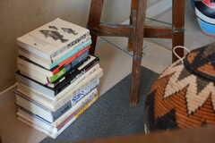 床置きの本もいい感じ。モデルルームです。(303号室)(2018-02-14,専有部,ROOM,3F)