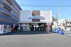 京福電鉄北野線・北野白梅町駅の様子。(2018-02-14,共用部,ENVIRONMENT,1F)
