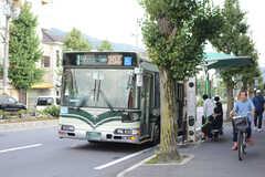 最寄りのバス停「浄土寺」の様子。(2017-10-10,共用部,ENVIRONMENT,1F)