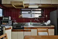 キッチンの様子。(2017-02-16,共用部,KITCHEN,1F)