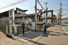 叡山電鉄叡山本線・修学院駅の様子。(2017-02-16,共用部,ENVIRONMENT,1F)