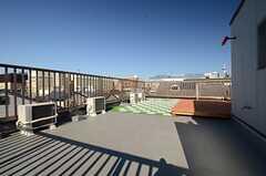屋上の様子。(2015-12-08,共用部,OTHER,4F)