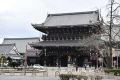 東本願寺の様子。(2018-01-30,共用部,ENVIRONMENT,1F)