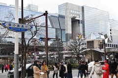 各線・京都駅前の様子。(2018-01-30,共用部,ENVIRONMENT,1F)