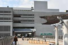 京都市営地下鉄東西線・醍醐駅前のショッピングモール。(2017-03-08,共用部,ENVIRONMENT,1F)