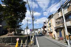 京都市営地下鉄東西線・小野駅からシェアハウスへ向かう道のり2。(2017-03-08,共用部,ENVIRONMENT,1F)