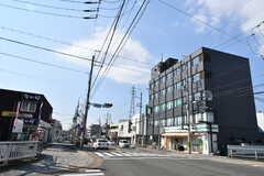 京都市営地下鉄東西線・小野駅前の様子。(2017-03-08,共用部,ENVIRONMENT,1F)