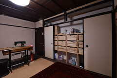 収納スペースの様子。(2017-02-08,共用部,LIVINGROOM,2F)