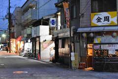 京福電気鉄道北野線・北野白梅町駅周辺の妖怪ストリートの様子。(2017-02-08,共用部,ENVIRONMENT,1F)