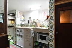 専有部のキッチン。(101号室)(2020-01-27,専有部,ROOM,1F)
