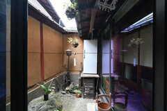 庭の様子。(101号室)(2020-01-27,専有部,ROOM,1F)