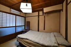 主寝室の様子2。(101号室)(2020-01-27,専有部,ROOM,2F)