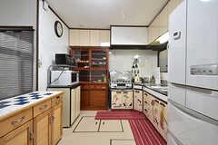 キッチンの様子。(2016-09-11,共用部,KITCHEN,1F)