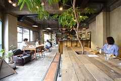 1Fはイタリアン主体のカフェレストランです。(2016-05-25,共用部,OTHER,1F)