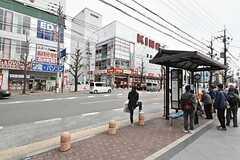 円町駅前の様子。(2016-04-05,共用部,ENVIRONMENT,1F)