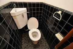 トイレの様子。(202号室)(2014-02-06,専有部,ROOM,2F)