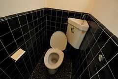 トイレの様子。(203号室)(2014-02-06,専有部,ROOM,2F)