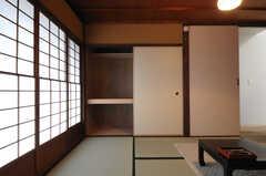 収納の様子。(201号室)(2014-02-03,専有部,ROOM,2F)