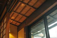 板の間の天井はこんな感じ。(101号室)(2014-02-03,専有部,ROOM,1F)
