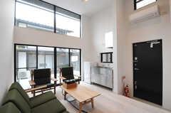 離れの様子2。キッチンがあります。(2014-02-03,共用部,LIVINGROOM,1F)