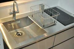 離れのキッチンの様子2。(2014-02-03,共用部,KITCHEN,1F)