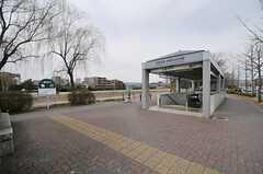 京阪鴨東線・神宮丸太町駅の様子。(2014-03-04,共用部,ENVIRONMENT,1F)