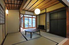 茶室の様子2。(2013-08-02,共用部,LIVINGROOM,1F)